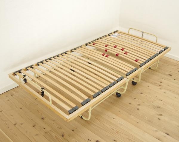 【折り畳み】ウッドスプリングベッド