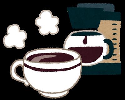 コーヒーのカフェインに要注意