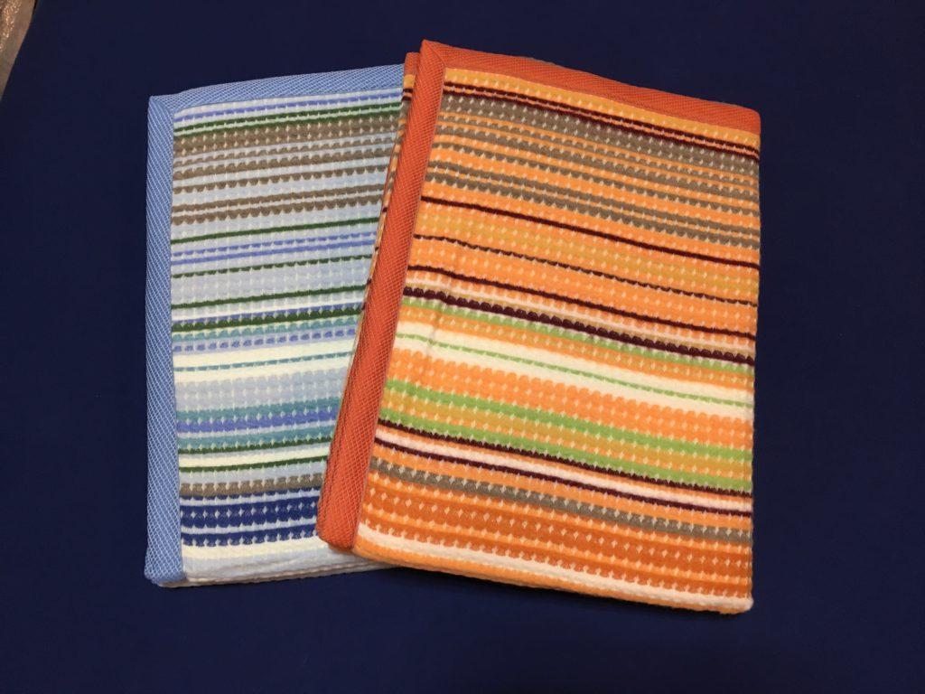 イタリア製ワッフル織りウールブランケット