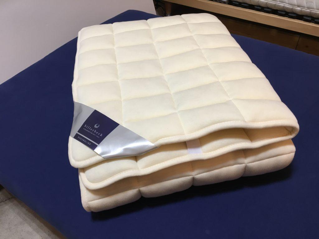 羊毛ベッドパッド