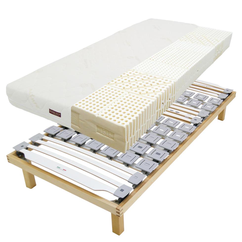 睡眠時の完璧な体圧分散!ウッドスプリングベッドとラテックスマットを組み合わせる理由とは?