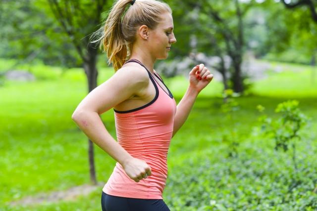 ランニング中は努力性呼吸