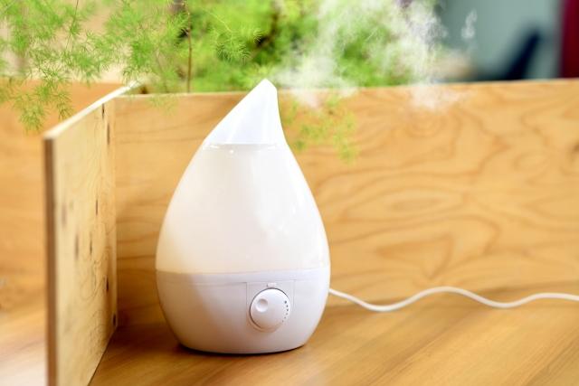 寝室の理想的な湿度は50%