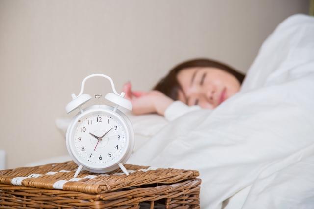 目覚し時計の音は自律神経を乱す